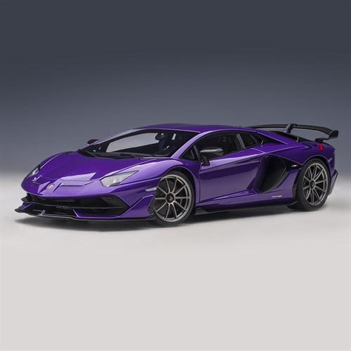 AUTOart Lamborghini Aventador SVJ 2019 , Pearl Purple 118