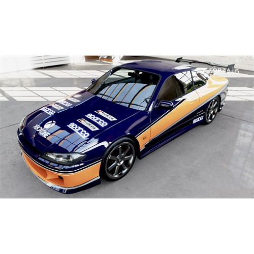 greenlight collectibles nissan silvia s15 2001 - the fast and the