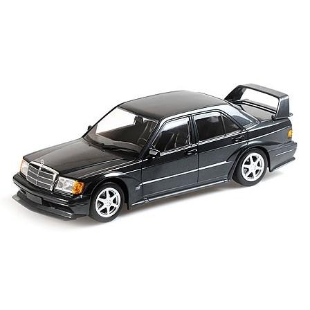 Minichamps Mercedes 190e 2 5-16 Evo 2 - Blue-Black Metallic 1:18
