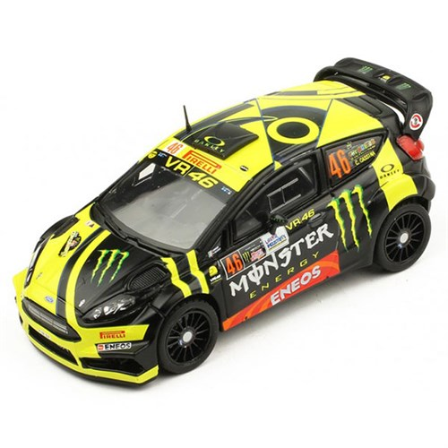 Ixo Ford Fiesta Rs Wrc 2017 Monza Rally 46 V Rossi 1 43
