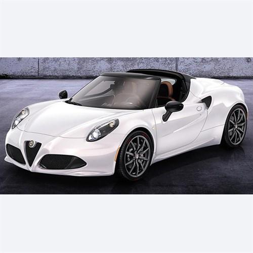 Alfa Romeo 4c White Spider