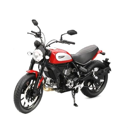 Truescale Miniatures Ducati Scrambler Icon Rosso Ducati 2015 112