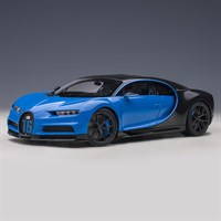 AUTOart Bugatti Chiron Sport 2019 - French Racing Blue/Carbon 1:18
