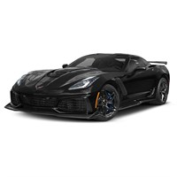 AUTOart Chevolet Corvette ZR1 2019 - Gloss Black 1:18