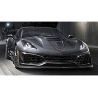 AUTOart Chevolet Corvette ZR1 2019 - Ceramic Matrix Grey Metallic 1:18