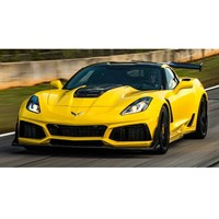 AUTOart Chevolet Corvette ZR1 2019 - Corvette Racing Yellow 1:18