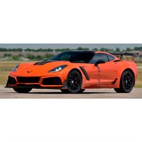 AUTOart Chevolet Corvette ZR1 2019 - Sebring Orange 1:18