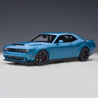 AUTOart Dodge Challenger Demon SRT 2018 - Blue 1:18