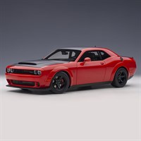 AUTOart Dodge Challenger Demon SRT 2018 - Red/Black 1:18