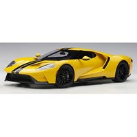 AUTOart Ford GT 2017 - Triple Yellow/Black Stripes 1:18