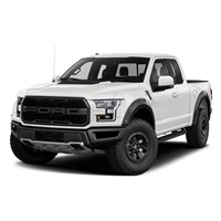 AUTOart Ford F-150 Raptor Supercrew 2017 - White 1:18