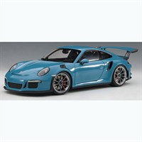 Porsche 911(991) GT3 RS 2016 - Miami Blue 1:18