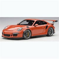 Porsche 911(991) GT3 RS 2016 - Lava Orange 1:18