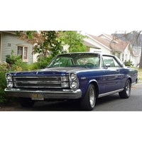 Ford Galaxie 500 7-Litre Hardtop 1966 - Nightmist Blue 1:24