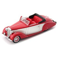 AutoCult Mercedes 230 Convertible (W153) - Red/White 1:43