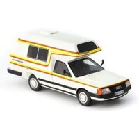 AutoCult Audi 100 Type 44 Bischofberger 1985 - White 1:43