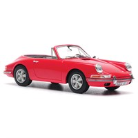 AutoCult Porsche 901 Karmann Cabriolet - Red 1:43