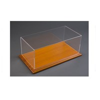 Atlantic Mahogany Wood Base Display Case 1:24