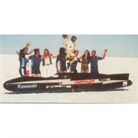 Bizarre Lightning Bolt - 1978 Bonneville Land Speed Record - D. Vesco 1:43