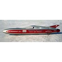 Triumph Gyronaut X1 - 1965 Bonneville Land Speed Record - A. Tremulis 1:43
