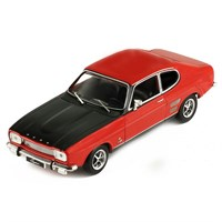 IXO Ford Capri Mk.1 1700 GT 1970 - Red/Black 1:43