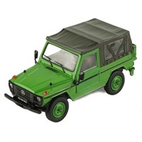 IXO Mercedes 240 G SWB Soft Top 1986 - Olive 1:43