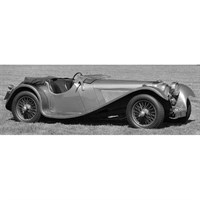 IXO Jaguar SS 1936 - Metallic Grey 1:43