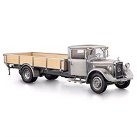 Mercedes LO 2750 Platform Truck 1934-38 - Clear Finish Version 1:18