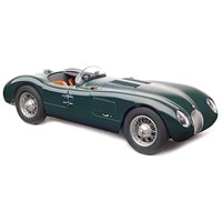 CMC Jaguar C-Type 1952 - British Racing Green 1:18