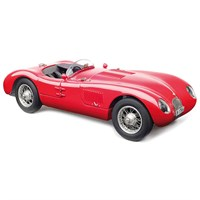 CMC Jaguar C-Type - Christian Jenny - Red 1:18