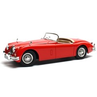 Cult Jaguar XK150 OTS Roadster - Red 1:18