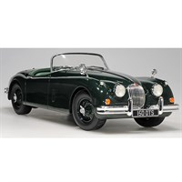 Jaguar XK150 S OTS Roadster 1958 - Green 1:18