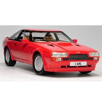 Aston Martin Zagato Coupe 1986 - Red 1:18