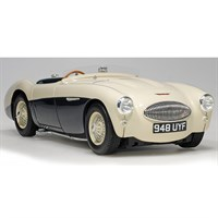Austin Healey 100S 1955 - Blue/White 1:18