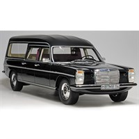 Mercedes V114 Pollmann Hearse 1972 - Black 1:18