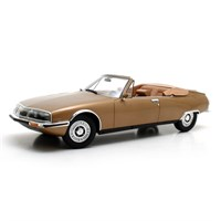 Citroen SM Mylord Convertible Chapron - Gold Metallic 1:18