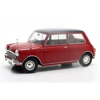 Cult Austin Mini Cooper Mk.1 1961-1963 - Red/Black 1:18