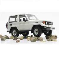 Toyota Land Cruiser BJ70 1984-89 - White 1:18
