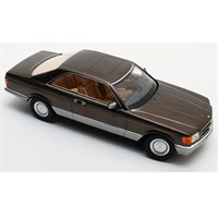 Mercedes 380 SEC 1982 - Brown Metallic 1:18