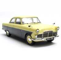 Cult Ford Zodiac 206E 1957 - Yellow/Brown 1:18