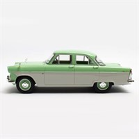 Cult Ford Zodiac 206E 1957 - Green/Beige 1:18