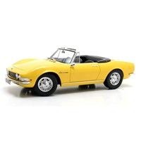 Cult Fiat Dino Spyder 1966 - Yellow 1:18