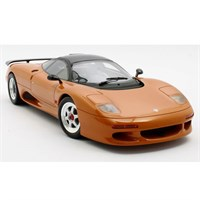 Cult Jaguar XJR-15 1990 - Metallic Orange 1:18