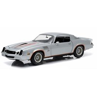 Greenlight Collectibles Chevrolet Camaro Z28 1978 - Silver/Orange 1:18