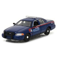 Greenlight Collectibles Ford Crown Victoria Police Interceptor - The Walking Dead 2010-17 - 1:43