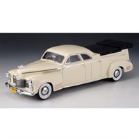 GLM Cadillac Miller Meteor Flower Car 1941 - White 1:43