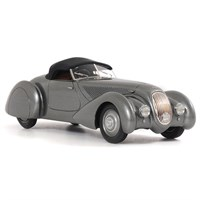 Bentley 4.25 litre Roadster Chalmers & Gathings - Roof Lowered - 1:43