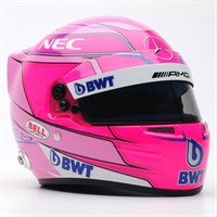 Bell Esteban Ocon Force India Helmet - 2018 1:2