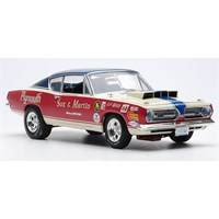 Highway 61 Plymouth Barracuda 1968 - Sox & Martin - 1:18
