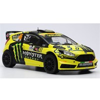 Ford Fiesta RS WRC - 2015 Monza Rally - #46 V. Rossi 1:18